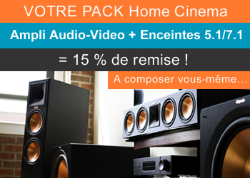 Votre pack Home-Cinema à -15%