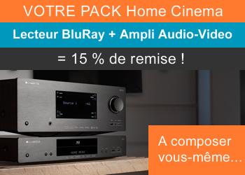 Composez votre pack home-cinema avec 15% de remise