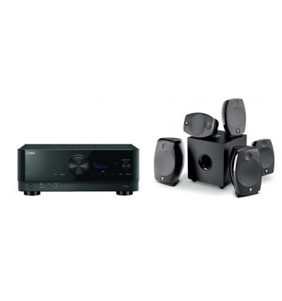 Pack Home cinéma RX-V6A + FOCAL SIB EVO ATMOS 5.1.2